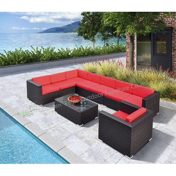 Weather resistant Outdoor Sofa set-rattan furniture(S0009)