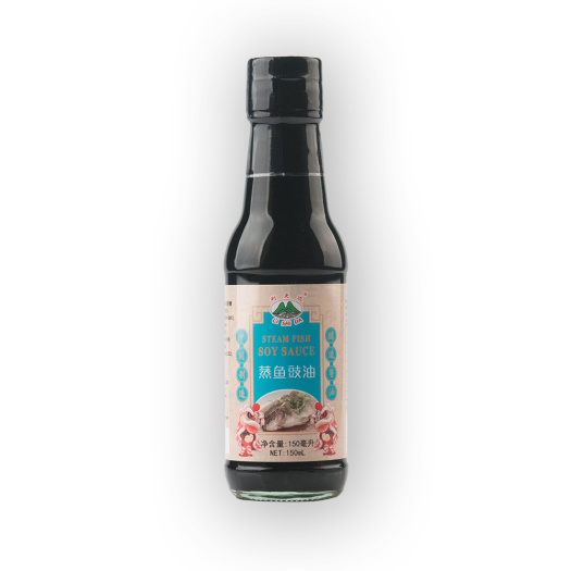 150ml Glass Bottle Steamed Fish Soy Sauce