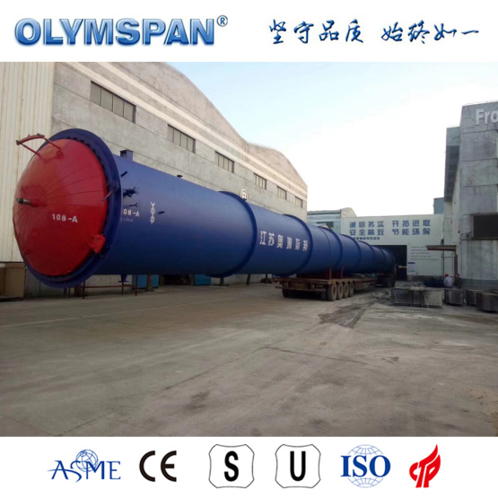 ASME standard cement ALC block fabrication autoclave