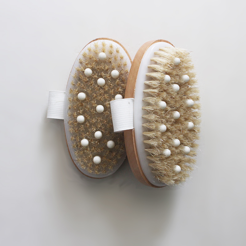 Bamboo Massage Bath Brush
