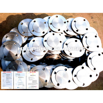 Blind flange raised face Class 150 PN16 RF