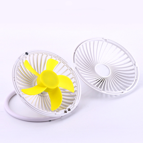 USB mini table fan colorful small cooling air