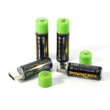 Rechargeable AA Lithium Battery