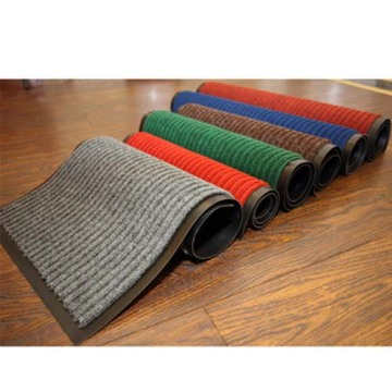 Professional commercial carpet ribbed design mat
