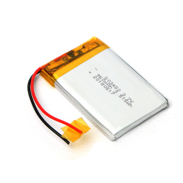 Reliable Quality 503450 3.7V 950mAh Lithium Polymer Battery