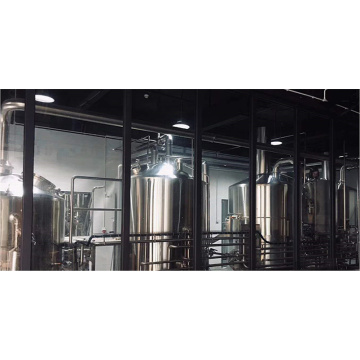 Custom Built Automatic 4 Vessel Craft Brewery