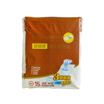 Pants style adult pull up diapers for women