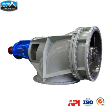 Bleaching and dyeing axial pump