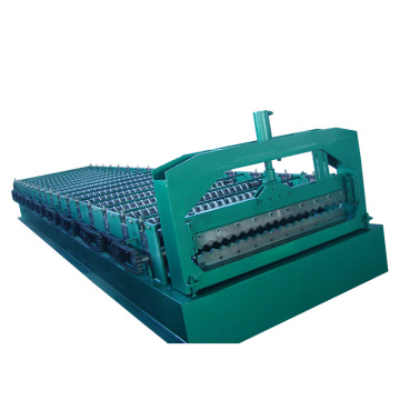 TH used metal roof tile corrugated iron machine manufacture
