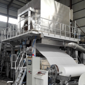 Crescent Former Toilet Tissue Paper Making Machine
