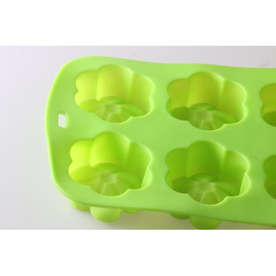 6 cups flower cake mold
