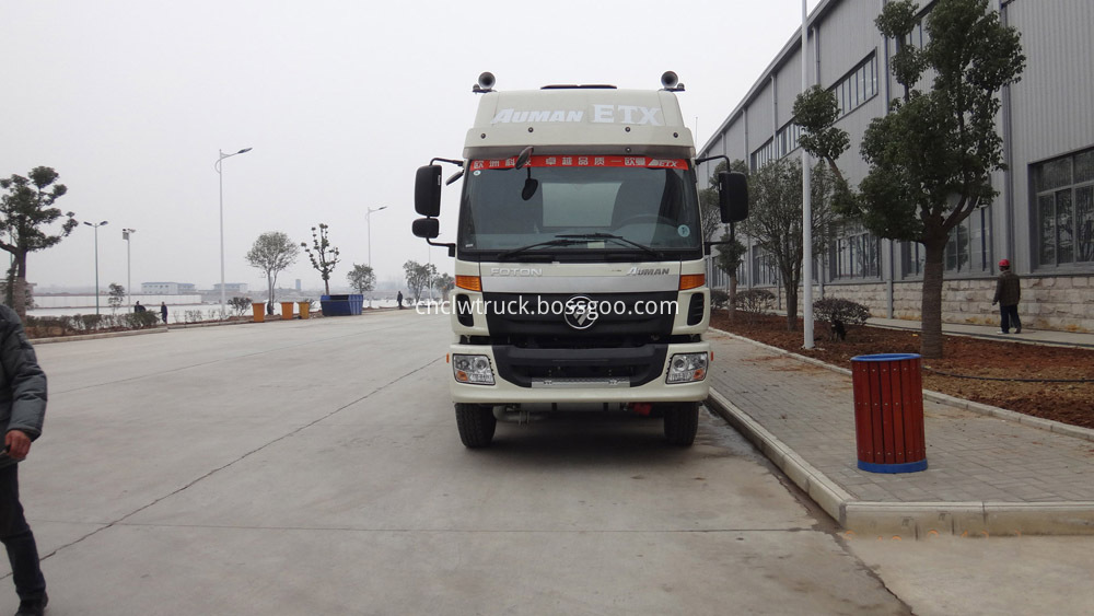 heavy duty fuel tank truck
