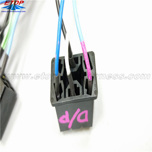 Automative Local or Original Supply Relay Harnesses