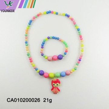 The latest fashion candy bubble gum children necklace