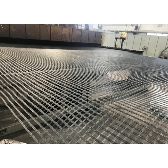 Retaining Walls PET Uniaxial Geogrid
