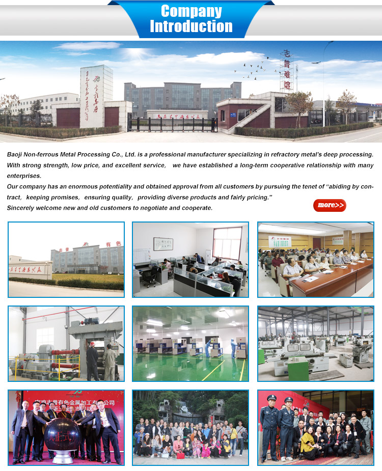 Molybdenum Heat Shield factory