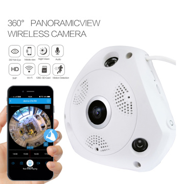 360 Fish Eye Panoramic WiFi IP Camera
