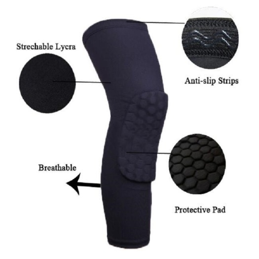 Professional knee pads volleyball for work gel
