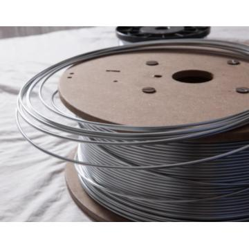 Zinc wire for shot blasting