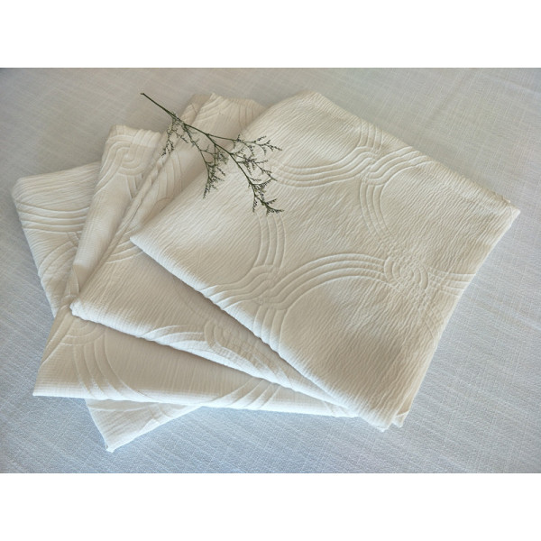 2018 New Design 100% Poly Jacquard Table Cloth