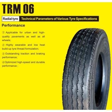 Truck and Bus Radial Tyre 1000R20