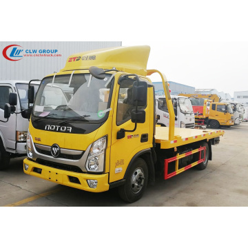 2019 New FOTON Aulin 4.2m Center Road Wrecker