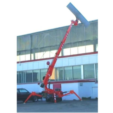 Glass Spider-crane Used for 500KG Installation