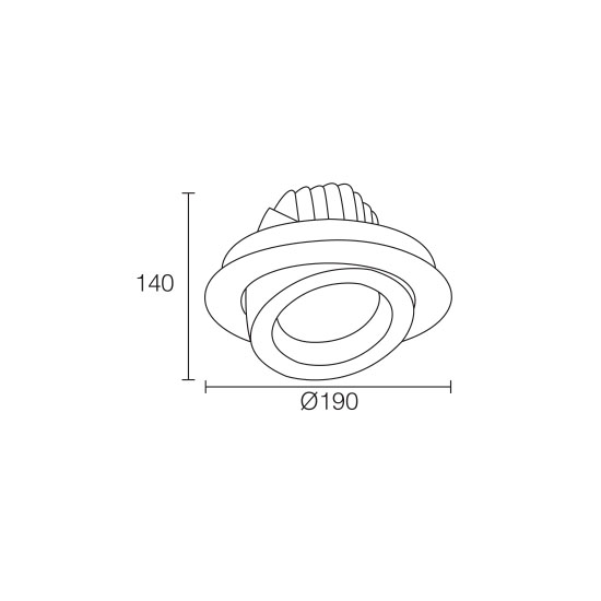 LED Downlight Recessed