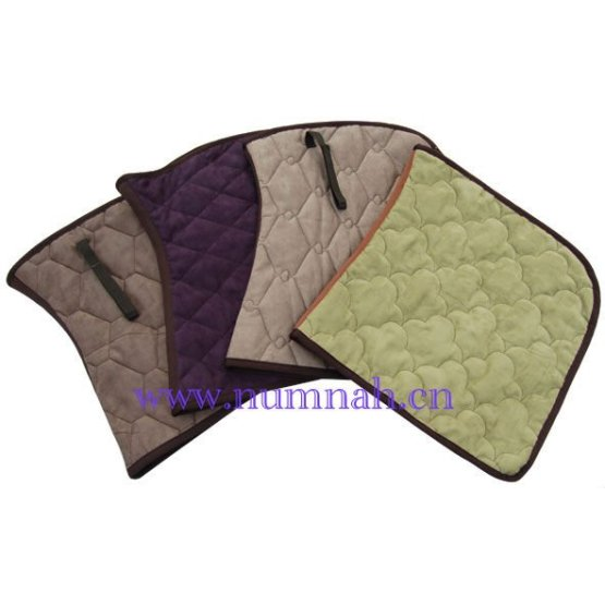 Horse numnah sheepskin customized saddle pad