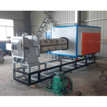 Push rod annealing furnace