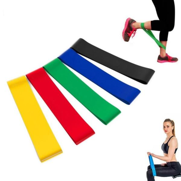 Mini elastic resistance bands exercise latex band