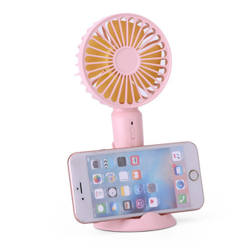 Mobile Holder USB Handheld Desktop Mini Fan