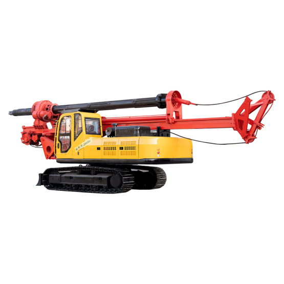 Hydraulic Diesel Tracked Bore Pile Drilling Machine