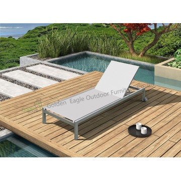 Aluminum leisure outdoor furniture sun lounger