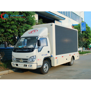 Guaranteed 100% FOTON 6.8㎡ LED Advertising Truck