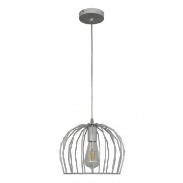 Square metal pendant light