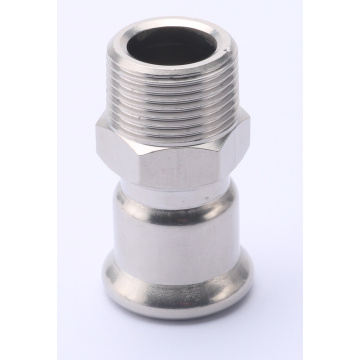 AISI 316L Male Coupling Pipe Press Fitting