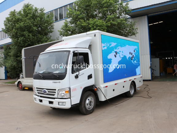 Outdoor Advertising Truck