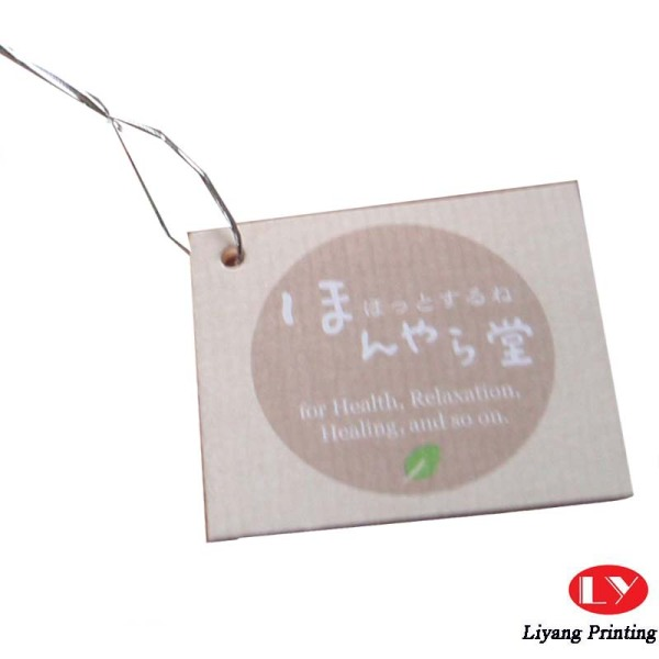 High quality customized paper garment hang tags