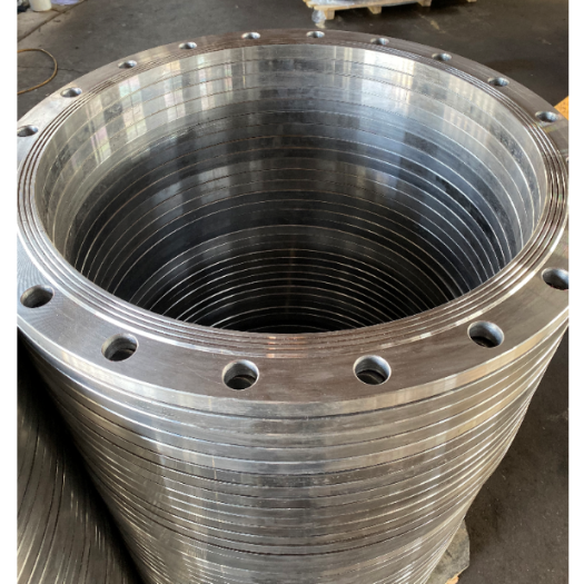 Forged butt welding flange