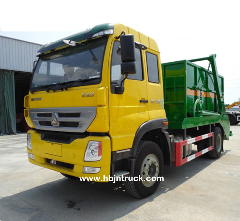 Skip Loader Vehicle Howo