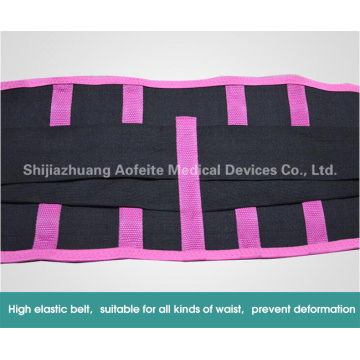 Running belt with elastic waist band