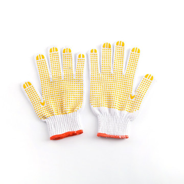 Polycotton Working Safety Gloves