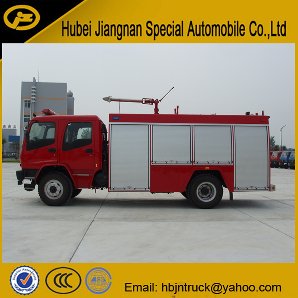 fire fighting engine truck