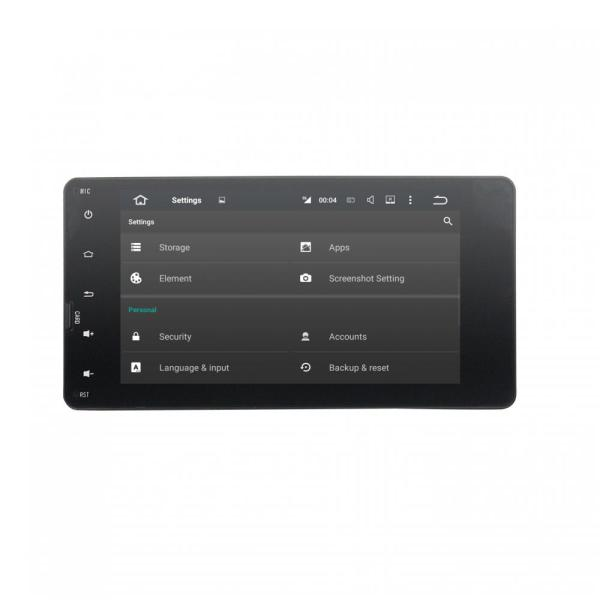 Full touch Car DVD Player for Mitsubishi Outlander 2014