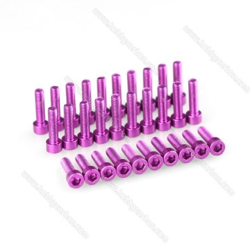 Colour Anodized Aluminum Screws With Competitive Price