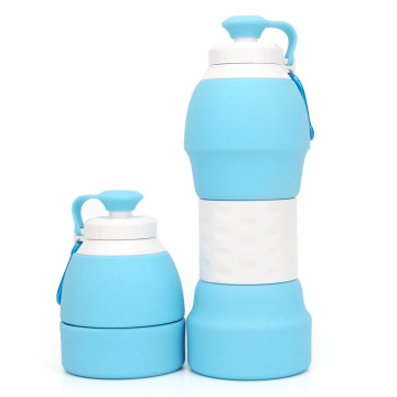 Reusable  Outdoor Sport Silicone Collapsible Water Bottle