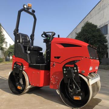CE high capacity full hydraulic ride-on road roller