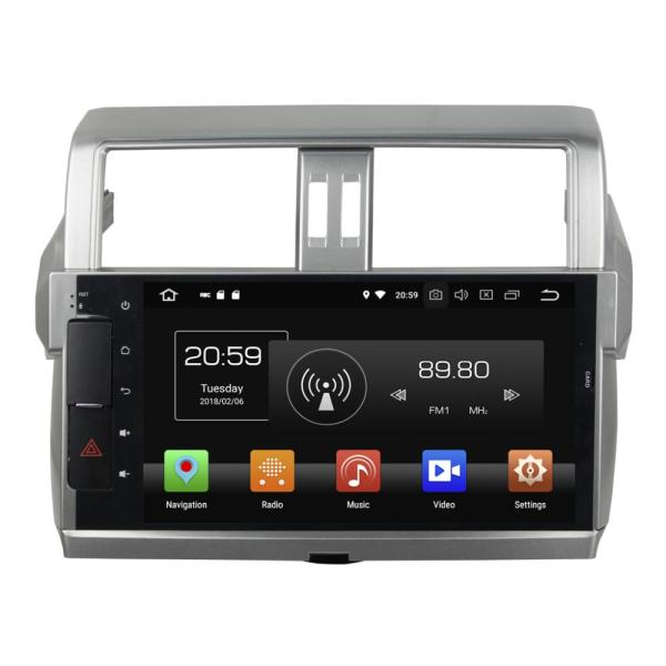 Autoradio GPS Navigation Head Unit for PRADO 2014-2015