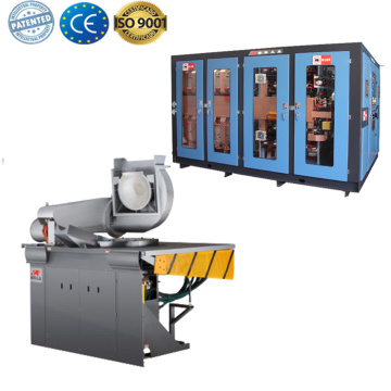 Casting induction furnace scrap steel melting machine